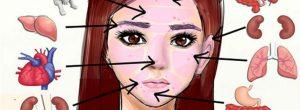 Αυτά τα σημάδια στο πρόσωπό σας υποδεικνύουν προβλήματα υγείας σε άλλα μέρη του σώματός σας