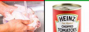 5 φαγητά που δεν πρέπει ποτέ να πλένετε πριν μαγειρέψετε